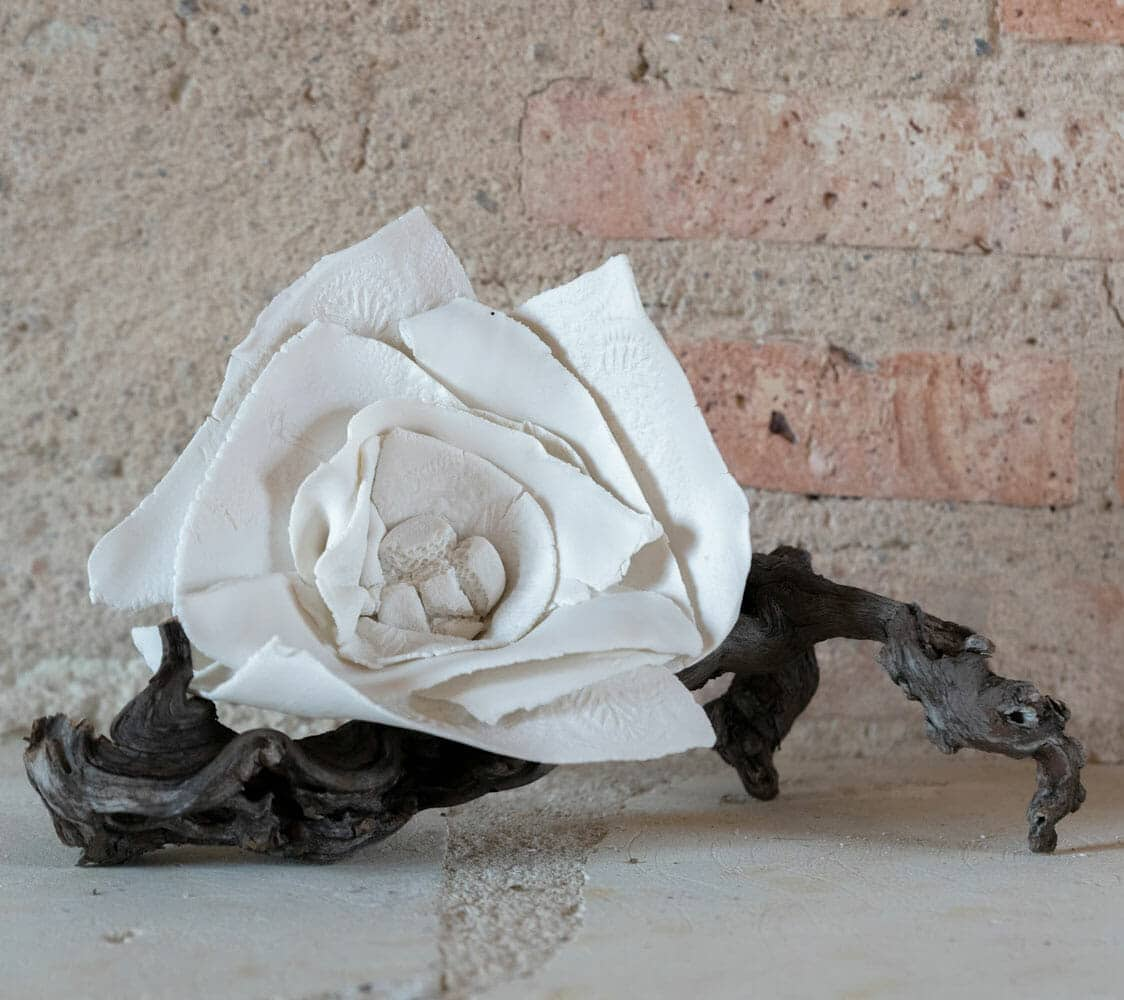 Fleur - Sandrine Ramona - Céramiste