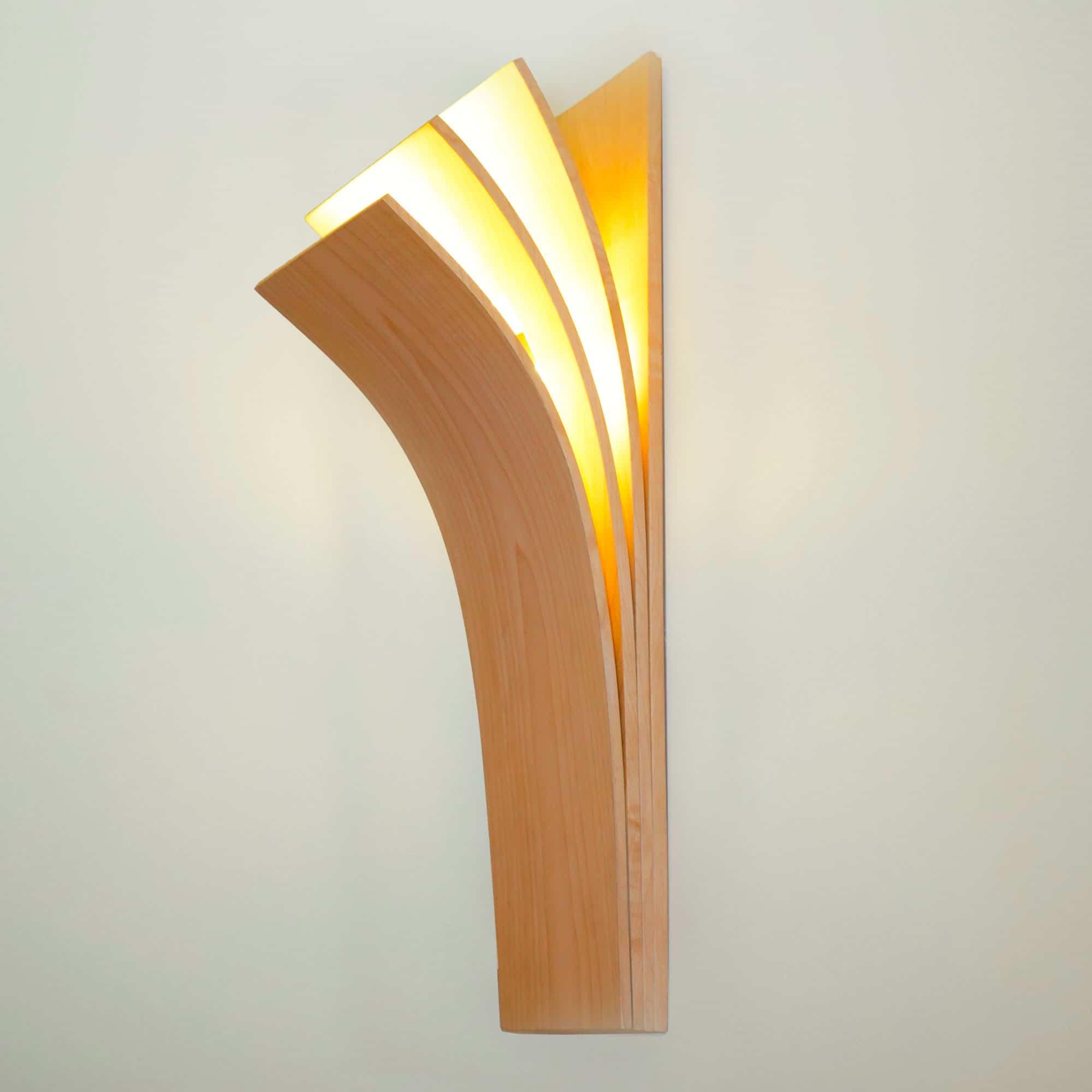 Lampe applique Livre de Matthieu Sandere - Ébéniste décorateur