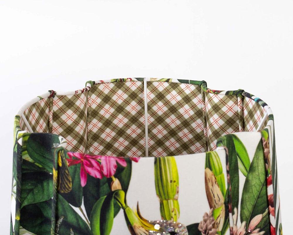 Abat-jour brodé Nicaragua de L'Atelier Margueritte