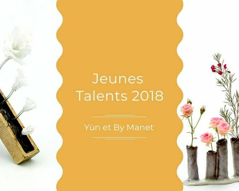 Yùn & By Manet, Jeunes Talents 2018