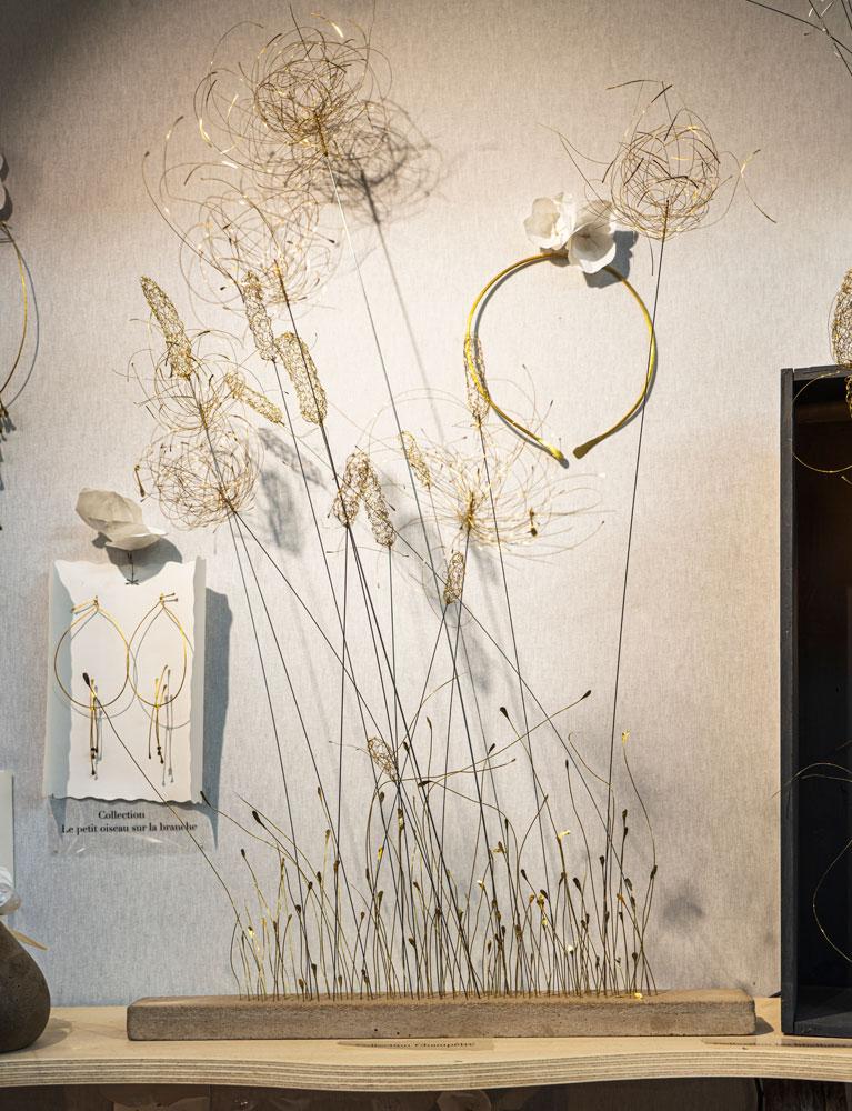 Florence Gossec - Créatrice-styliste bijoux, scultures et mobiles