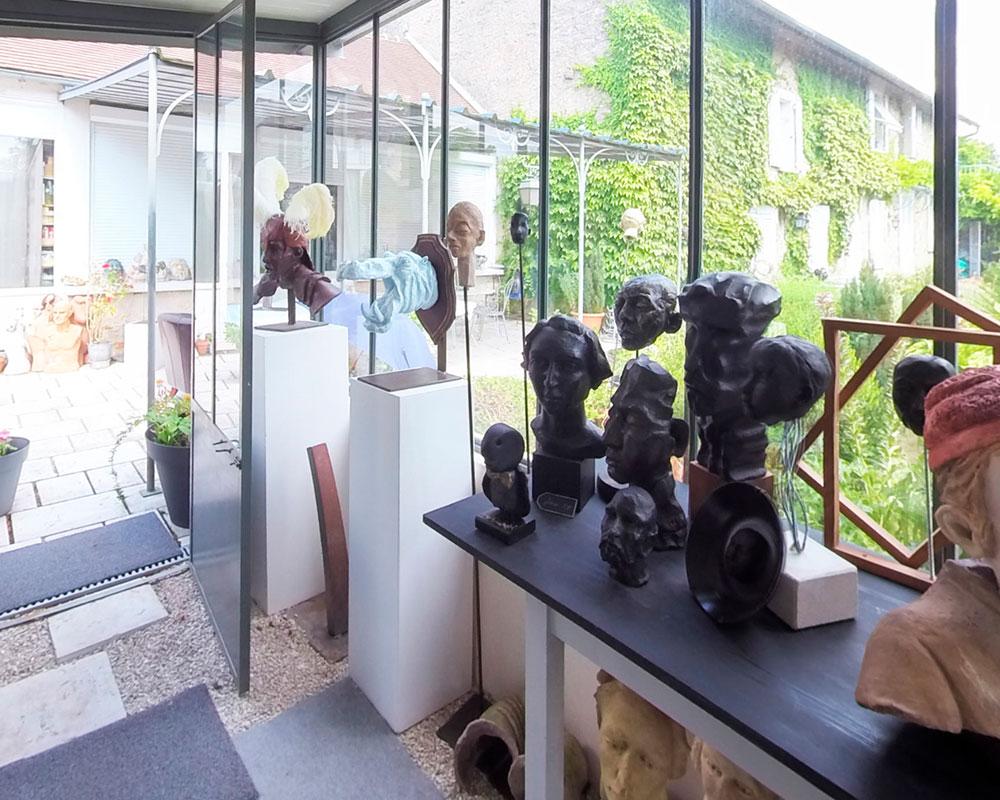 Atelier d'Anmarie Léon Sculpteure