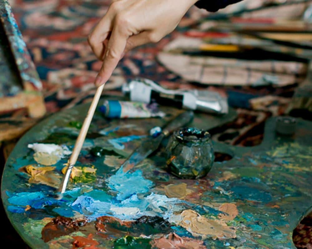 Geste de Carole Melmoux | Peintre