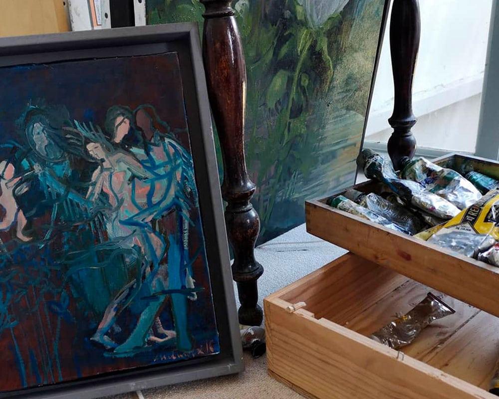 Atelier de Carole Melmoux | Peintre