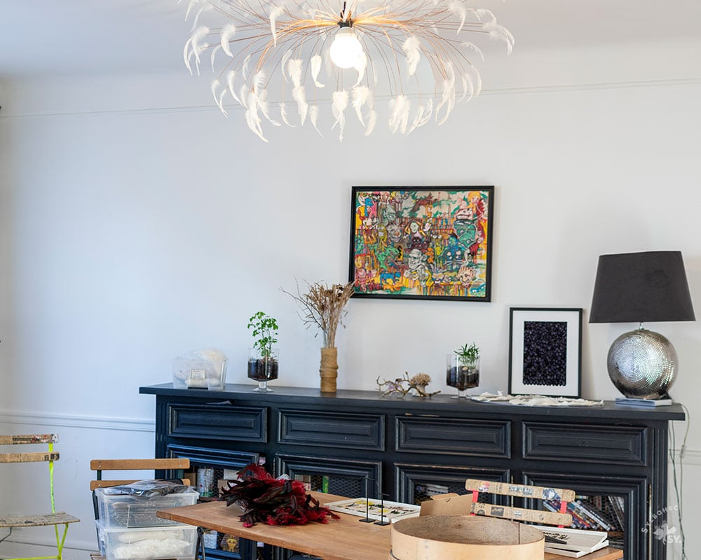 Atelier parisienne de la plumassière parisienne Plumavera