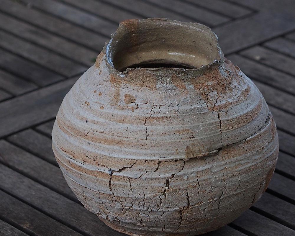 """Vase en grès """"Irrégulier"""" de l'Atelier du Curieux"""