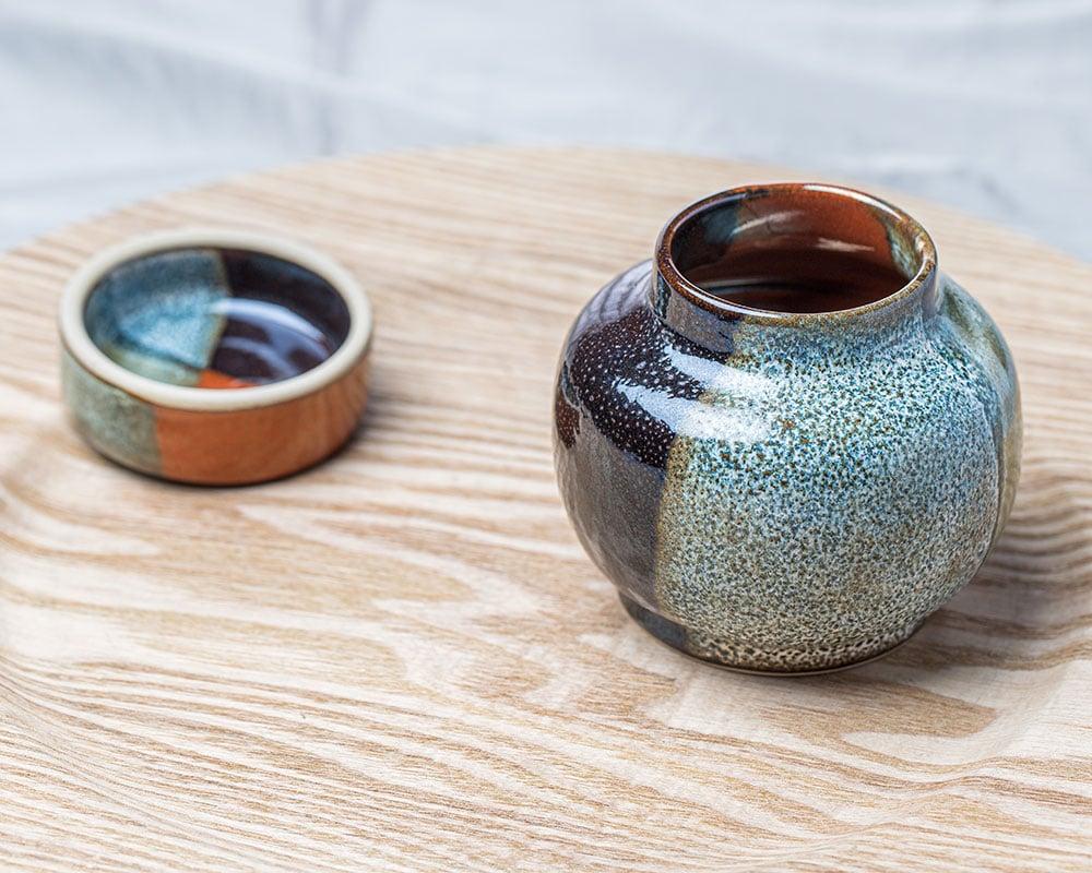 Fantaisie - Pot avec couvercle en grès du Pot d'Hermine