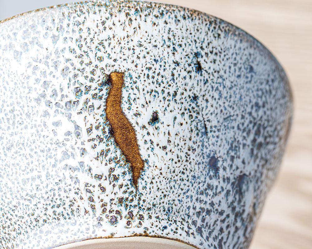 Petit saladier Roche Féline en grès du Pot d'Hermine