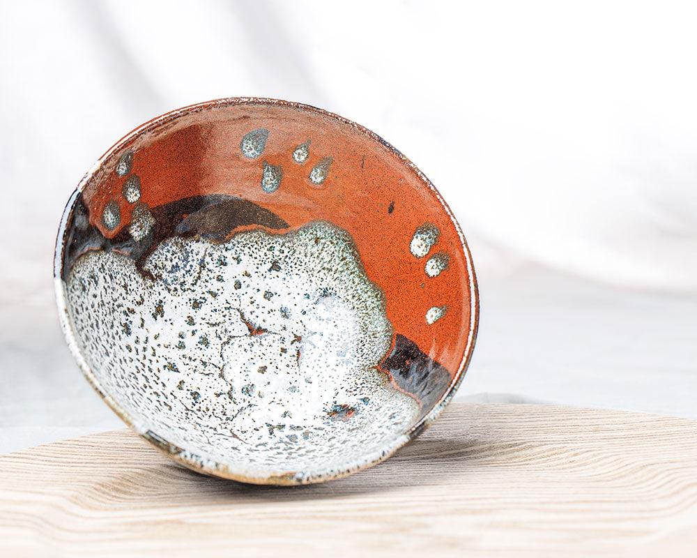 Soweto 1 - Petit saladier en grès du Pot d'Hermine