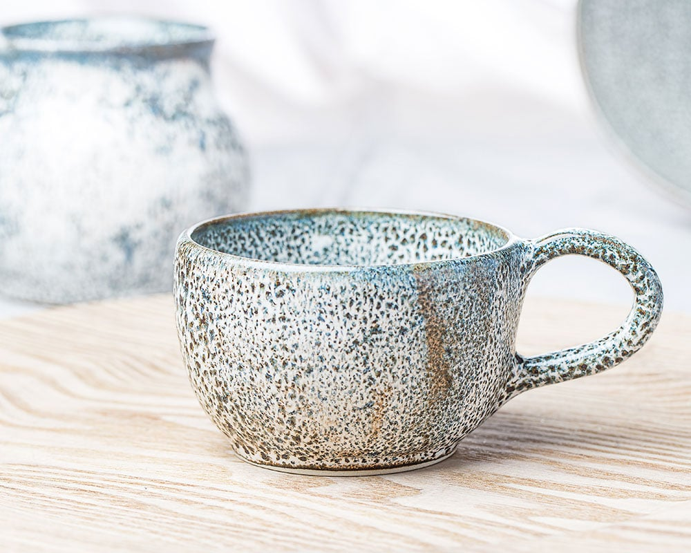 Tasse Léopard - Tasse en grès du Pot d'Hermine