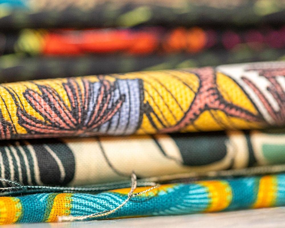 Tissus pour la fabrication fait-main d'abat-jour - Atelier Magueritte