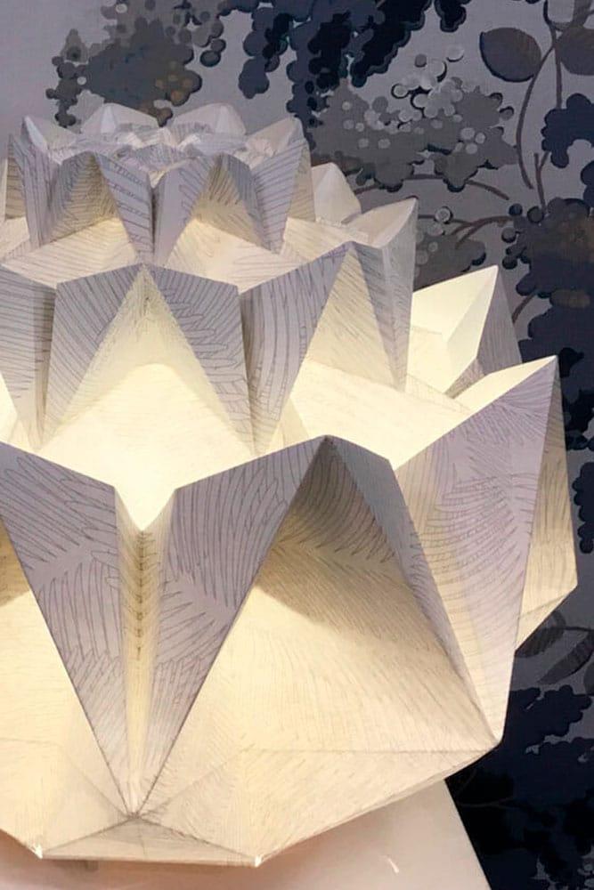 Univers des luminaires de Papier de Catherine Capitaine