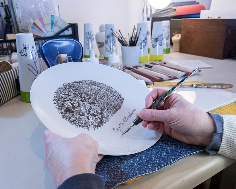 Dessiner à la plume dans l'atelier de Véronique Joly-Corbin
