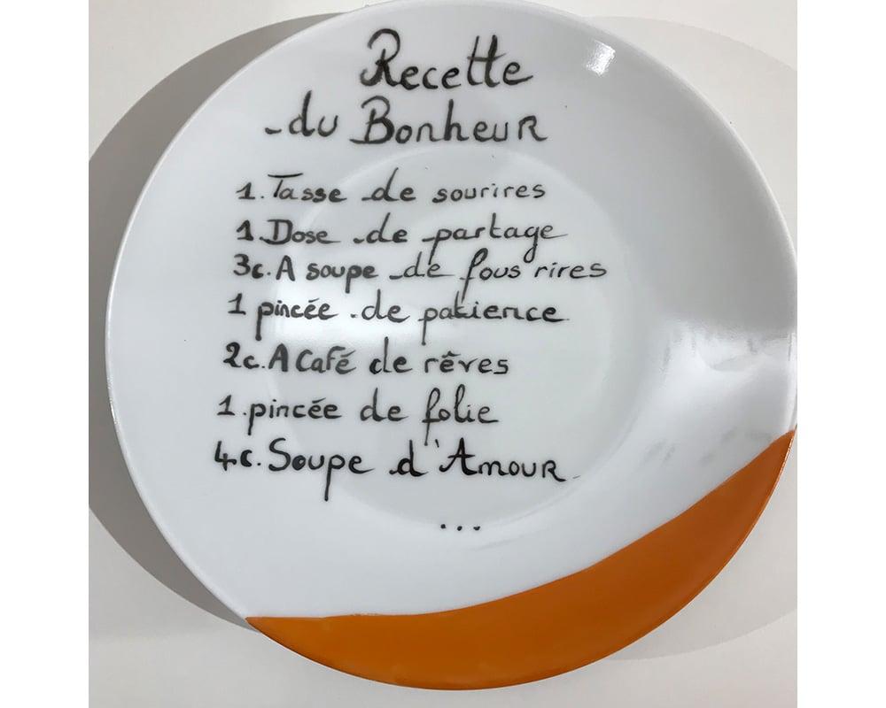 """Composition murale """"Histoire au mur - Table"""" - Recette du Bonheur"""