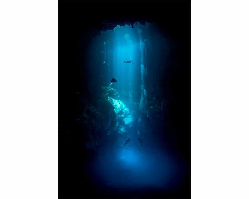 BLUE HOLE - Photographie sous-marine de Fabrice Guérin