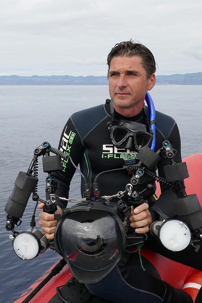 Fabrice Guérin Photographe en milieux sous-marin et animalier