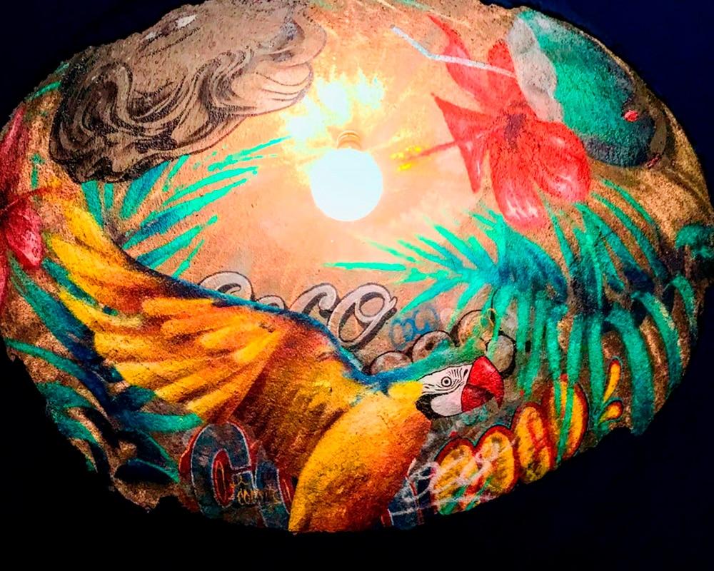 Collection Capsule | Géode Coconut réalisée à quatre mains avec Adrien Roubens, Street Artist