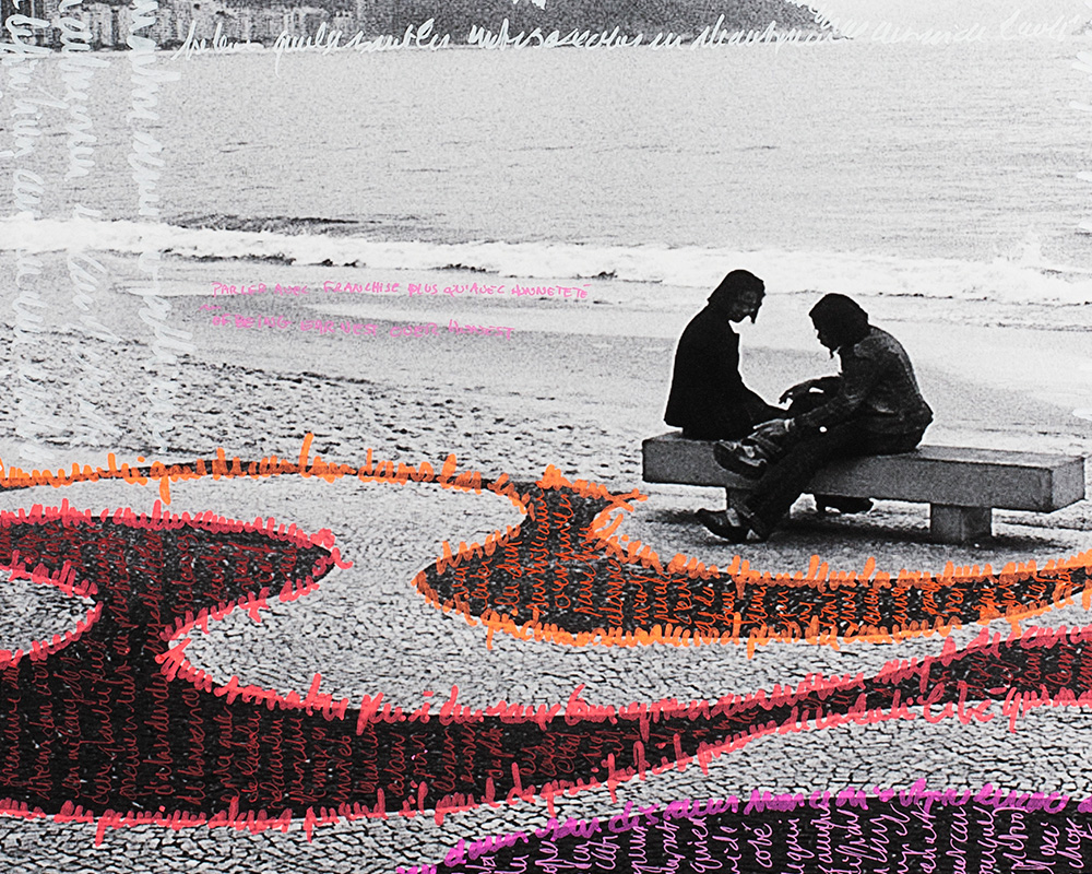 Photographie Écrite en Noir&Blanc - Copacabana - n°2/30 de la photographe Sylbohec