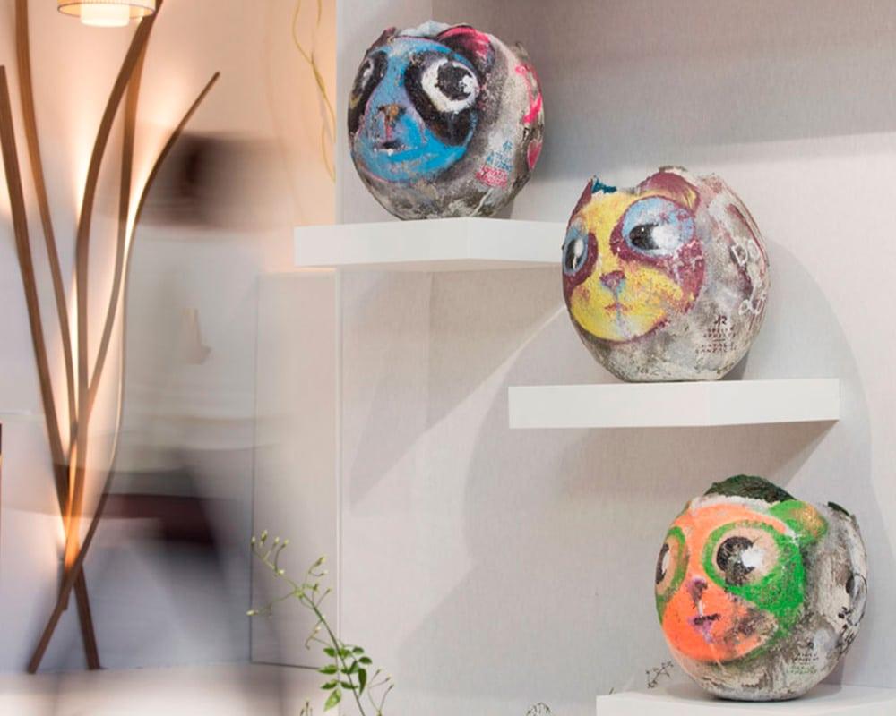 Collection Capsule | Oeuf Pandy Warhol réalisé à quatre mains avec Adrien Roubens
