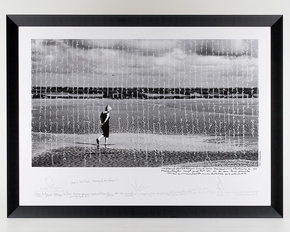 Photographie Écrite en Noir&Blanc - Paix intérieure - n°3/30 de la photographe Sylbohec