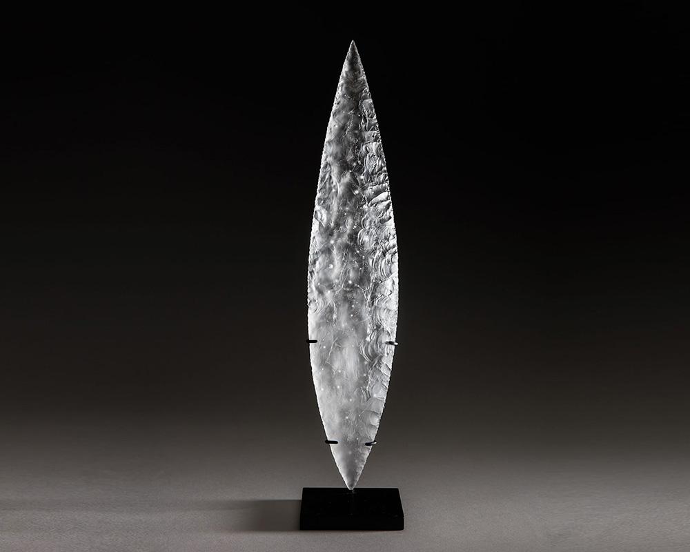 Origine - Sculpture en partiellement dépoli de Marion Fillancq