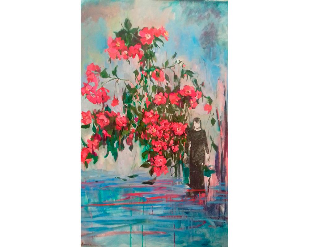 """Huile sur toile """"A midsummer night's dream"""" - Carole Melmoux Peintre"""