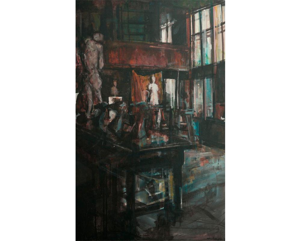 """Peinture """"Atelier Bourdelle"""" - Carole Melmoux Peintre"""