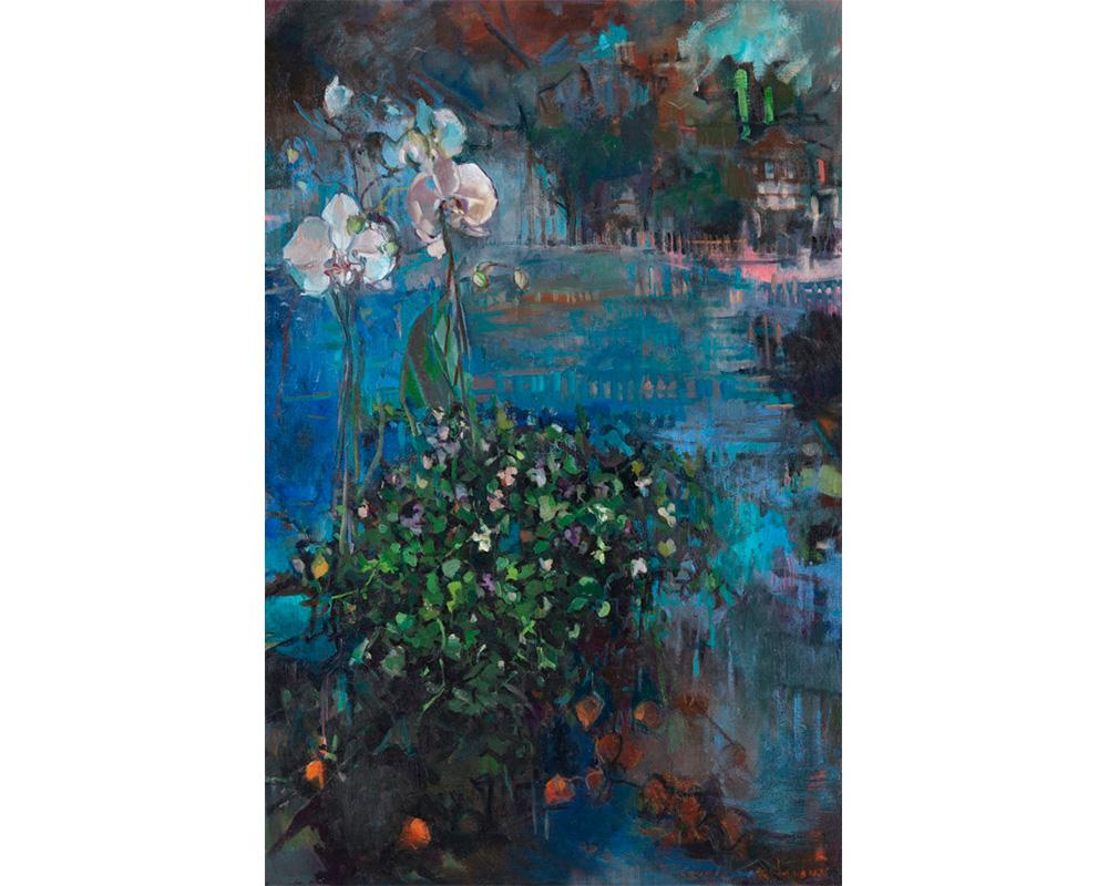 """Peinture """"Good thoughts"""" - Carole Melmoux Peintre"""